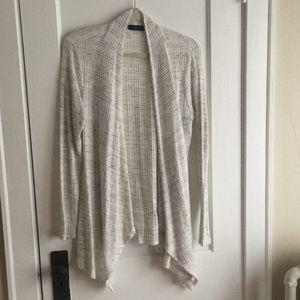 Apt 9 Heathered Knit Cardigan, L
